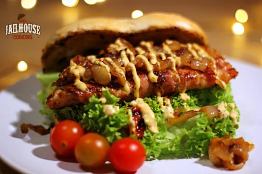 Rotbarsch Bacon Burger