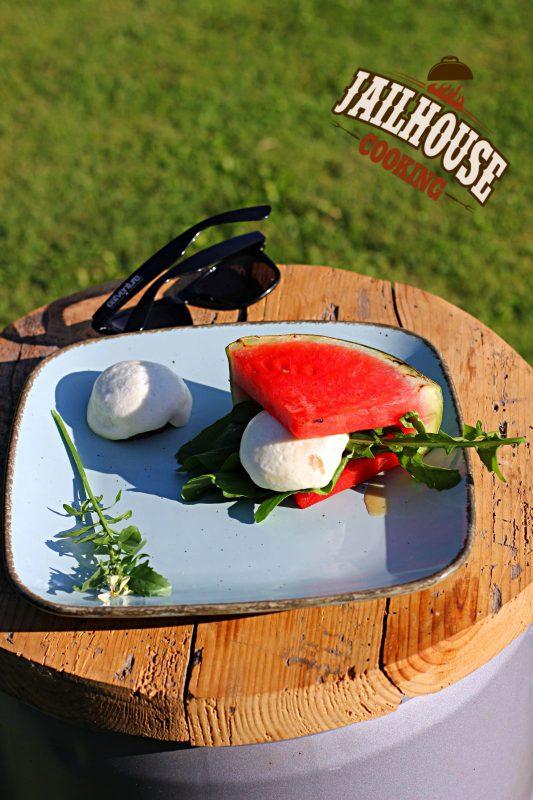Melonen-Wagyu-Burger