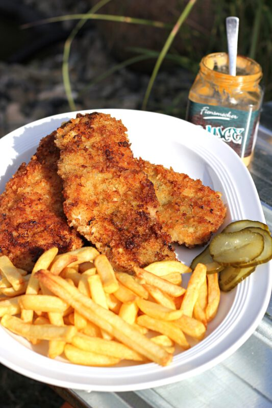 Hot Dog Schnitzel